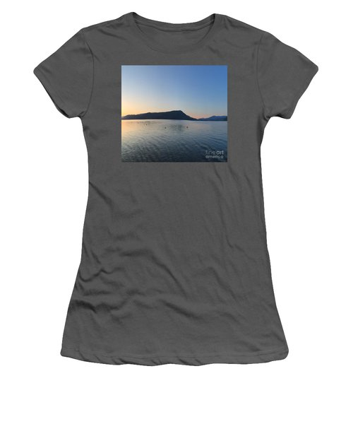 Women's T-Shirt (Junior Cut) featuring the photograph Celista Sunrise 2 by Victor K