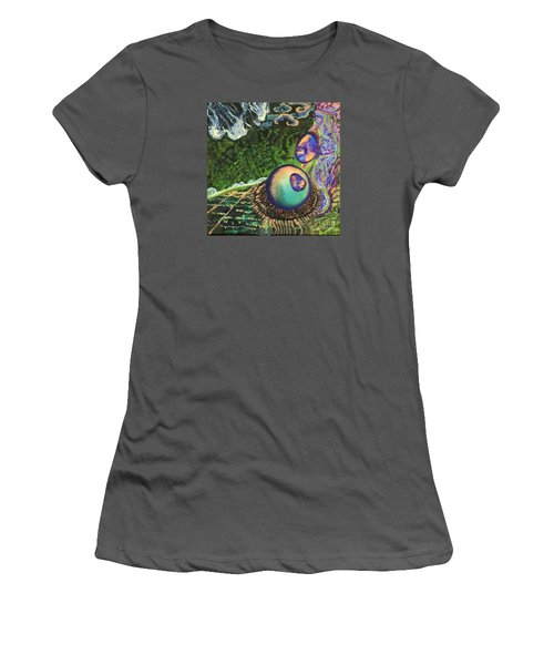 Cell Interior Microbiology Landscapes Series Women's T-Shirt (Junior Cut) by Emily McLaughlin