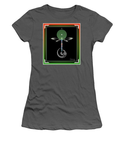 Celtic Dragonfly Women's T-Shirt (Athletic Fit)