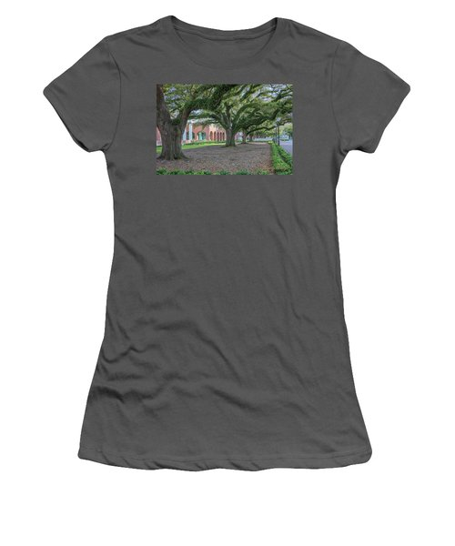 Women's T-Shirt (Junior Cut) featuring the photograph Centennial Oaks by Gregory Daley  PPSA