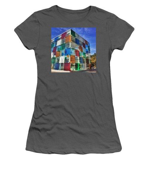 Centre #pompidou #malaga #museo #museum Women's T-Shirt (Athletic Fit)