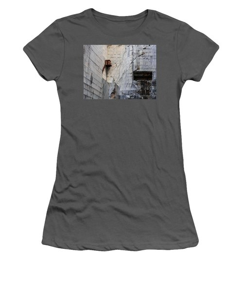 Cervaiole Quarry - Apuan Alps, Tuscany Italy Women's T-Shirt (Athletic Fit)