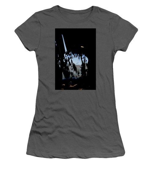 Women's T-Shirt (Junior Cut) featuring the photograph Cessna Art I by Paul Job