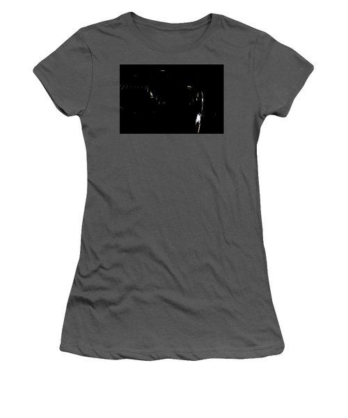Women's T-Shirt (Junior Cut) featuring the photograph Cessna Views II by Paul Job