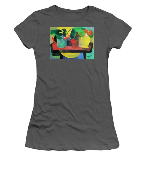 Cezanne Potting Stand Women's T-Shirt (Athletic Fit)