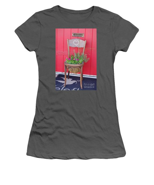 Chair Planter Women's T-Shirt (Athletic Fit)
