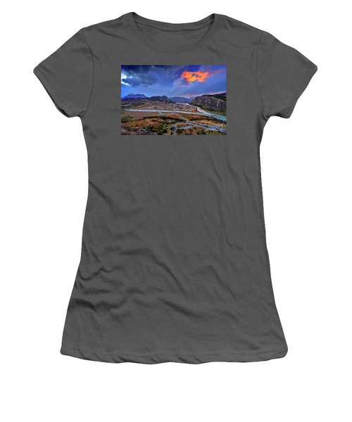 Chalten-03 Women's T-Shirt (Athletic Fit)