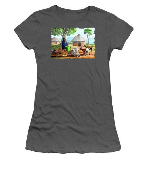 Change Of Scene Women's T-Shirt (Junior Cut) by Anthony Mwangi