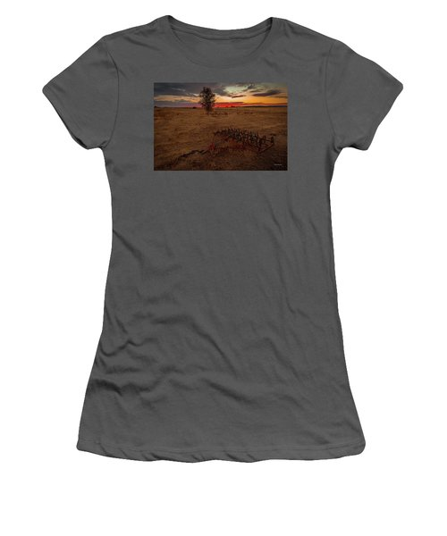 Change On The Horizon Women's T-Shirt (Athletic Fit)