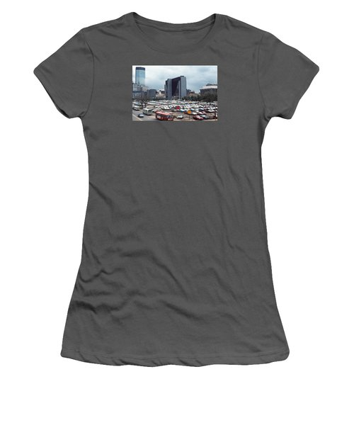 Changing Skyline Women's T-Shirt (Athletic Fit)