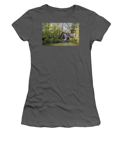 Chapel In The Woods Women's T-Shirt (Athletic Fit)