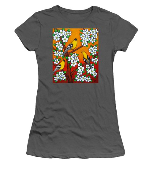 Chardonnay Sunset Women's T-Shirt (Athletic Fit)