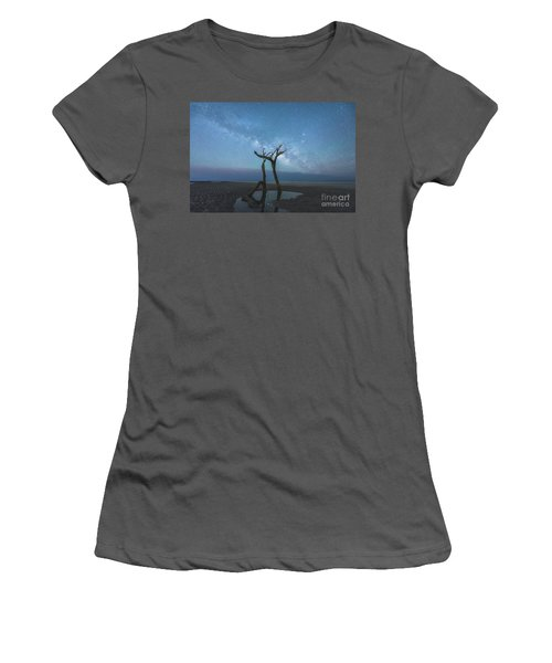 Charleston Milkyway Women's T-Shirt (Athletic Fit)