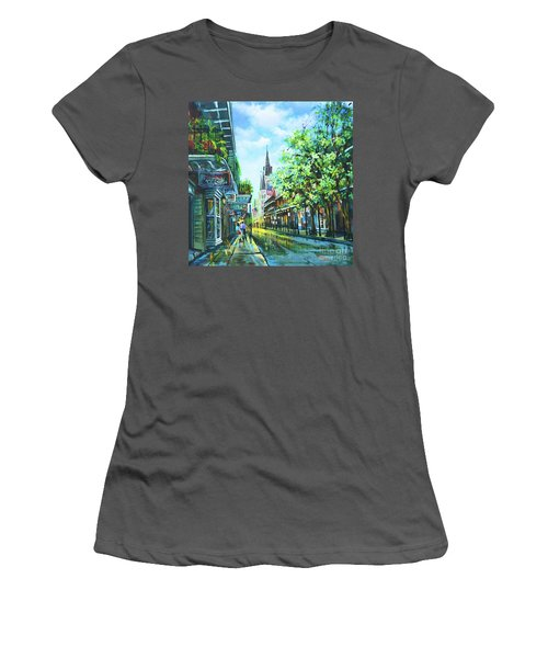 Chartres Afternoon Women's T-Shirt (Athletic Fit)