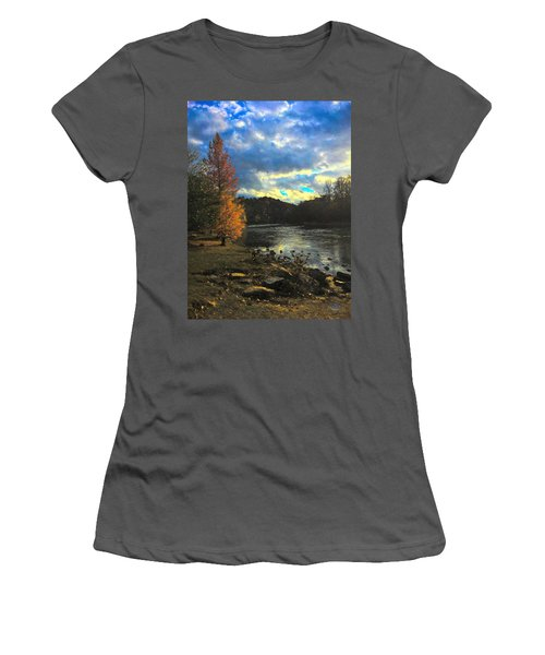 Chattahoochee Fall Women's T-Shirt (Athletic Fit)