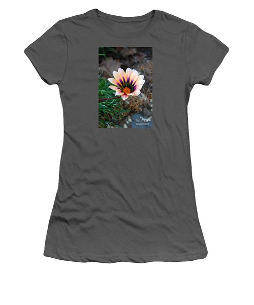 Cheerful Flower Women's T-Shirt (Athletic Fit)
