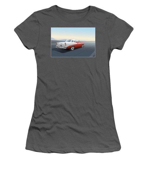 Chevrolet Bel Air Women's T-Shirt (Athletic Fit)