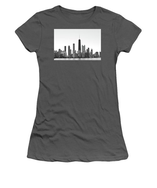 Chicago Skyline No. 1-1 Women's T-Shirt (Athletic Fit)