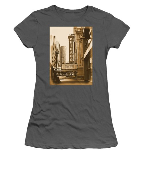 Chicago Theater - 3 Women's T-Shirt (Athletic Fit)