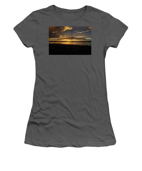 Chickahominy  Women's T-Shirt (Junior Cut) by Linda Larson