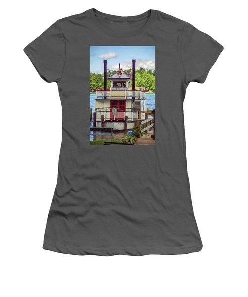 Chief Waupaca Women's T-Shirt (Junior Cut) by Trey Foerster