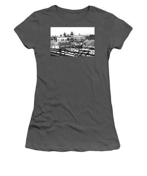Chinatown Chicago 4 Women's T-Shirt (Junior Cut) by Marianne Dow