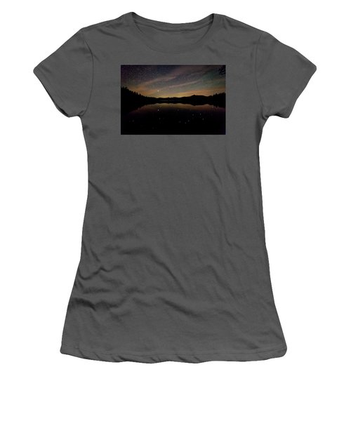 Chocorua Lake Women's T-Shirt (Athletic Fit)
