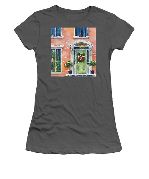 Christmas At The Rectory Women's T-Shirt (Athletic Fit)