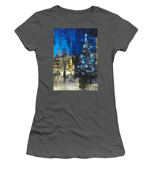 Christmas Eve Women's T-Shirt (Junior Cut) by LemonArt Photography