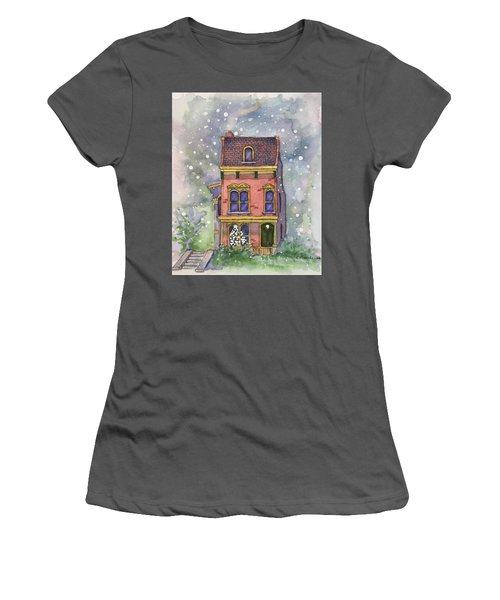 Christmas On North Hill Women's T-Shirt (Athletic Fit)