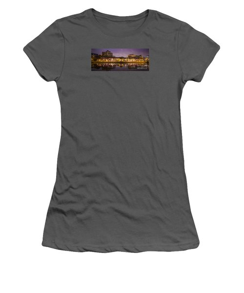 Women's T-Shirt (Junior Cut) featuring the photograph Christmas Reflections  by Ricky L Jones