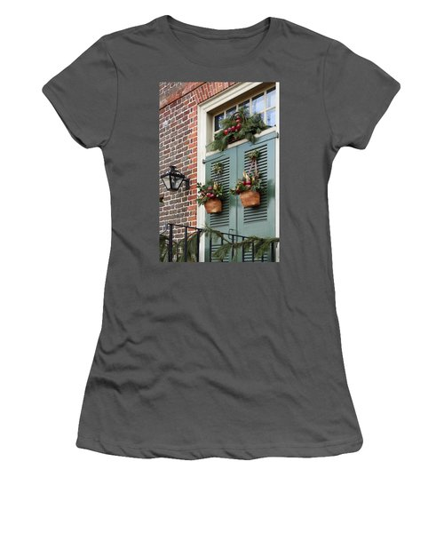 Christmas Welcome Women's T-Shirt (Athletic Fit)