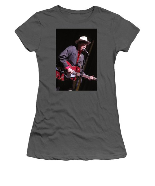 Women's T-Shirt (Junior Cut) featuring the photograph Chuck Mead by Jim Mathis