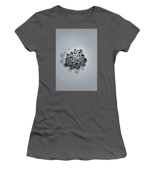 Women's T-Shirt (Athletic Fit) featuring the photograph Cinnamon Brain by Lora Lee Chapman