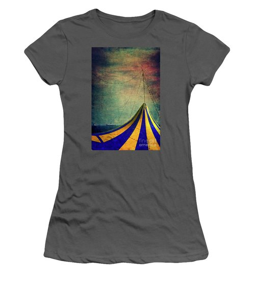 Circus With Distant Ships II Women's T-Shirt (Athletic Fit)