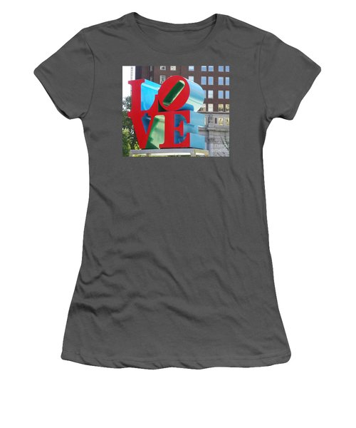 City Of Love Women's T-Shirt (Athletic Fit)