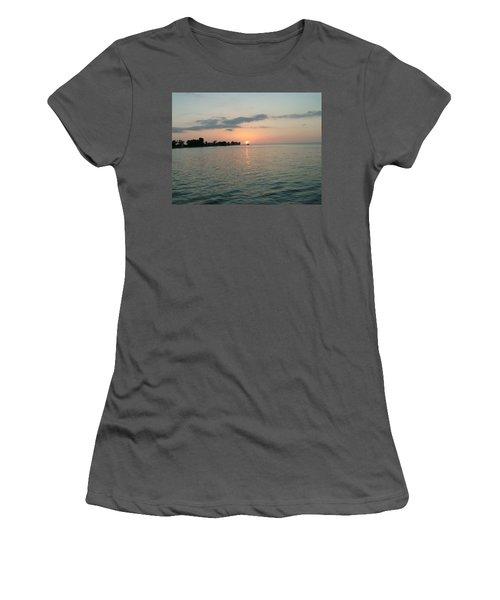 City Pier Holmes Beach Bradenton Florida Women's T-Shirt (Athletic Fit)