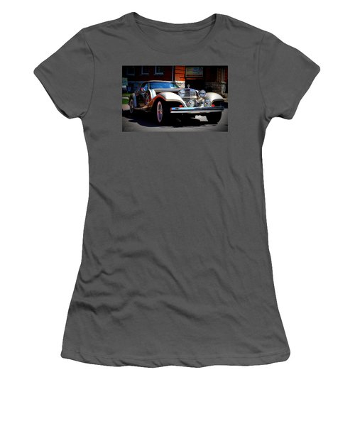 Women's T-Shirt (Junior Cut) featuring the photograph Classic Streets by Al Fritz