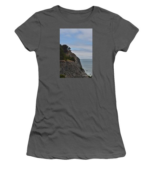 Cliff Hanger Women's T-Shirt (Athletic Fit)