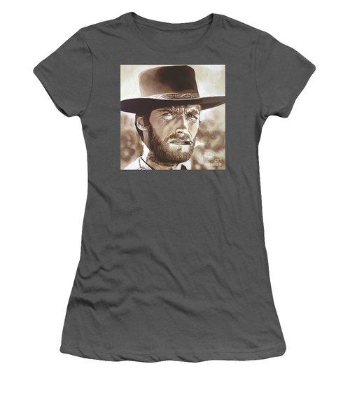 Clint Eastwood Women's T-Shirt (Athletic Fit)