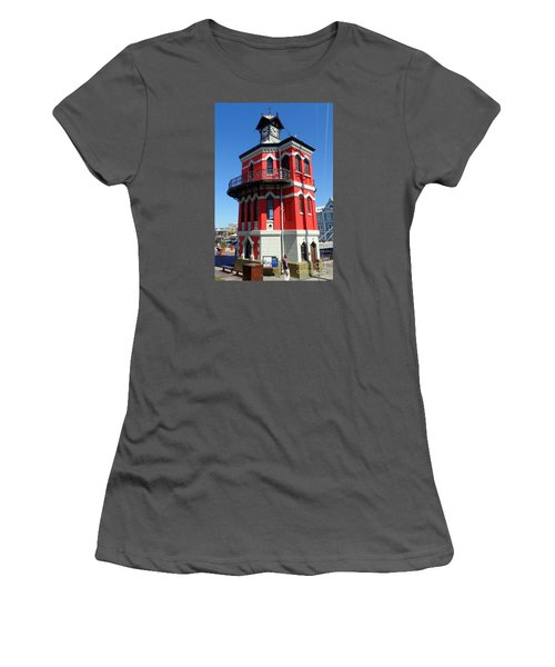 Clock Tower Cape Town Women's T-Shirt (Athletic Fit)