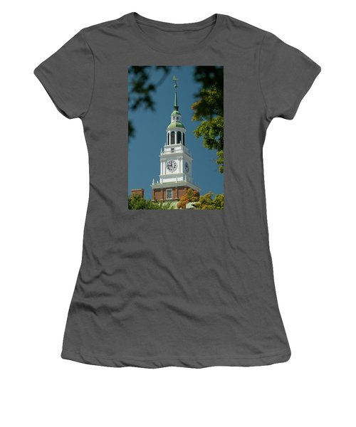 Clock Tower Women's T-Shirt (Athletic Fit)