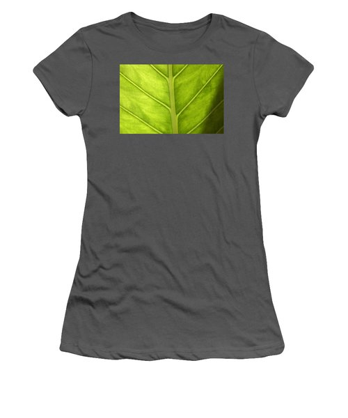 Close-up Of A Elephant Ear Women's T-Shirt (Athletic Fit)
