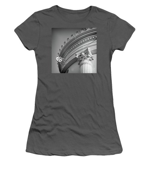 Closeup Of Lighthouse  -58750 Women's T-Shirt (Athletic Fit)