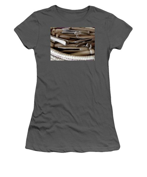 Clothes-pins Women's T-Shirt (Athletic Fit)