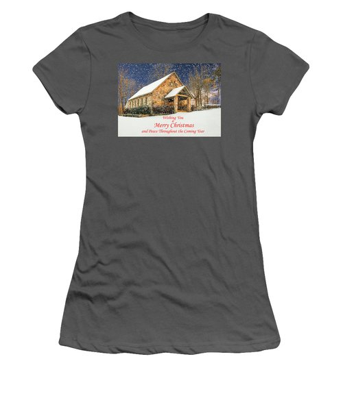 Cloudland Presbyterian Church  Women's T-Shirt (Athletic Fit)