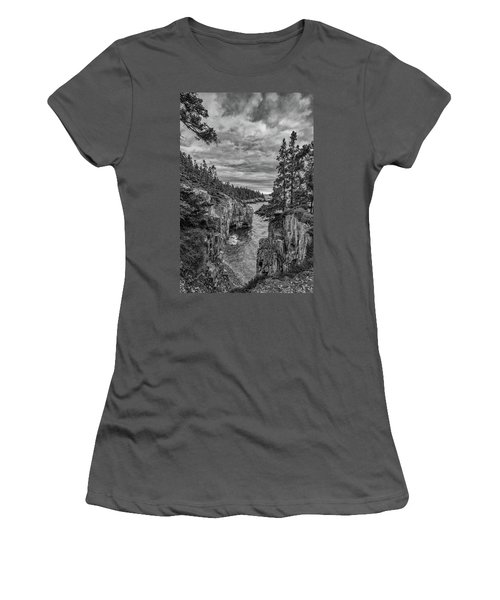 Clouds Over The Cliffs Women's T-Shirt (Athletic Fit)