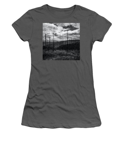 Cloudscape 3 Women's T-Shirt (Athletic Fit)