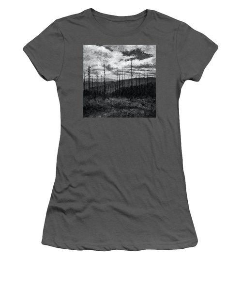 Cloudscape 3 Women's T-Shirt (Athletic Fit)