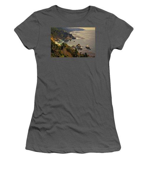 Coast Line Women's T-Shirt (Athletic Fit)